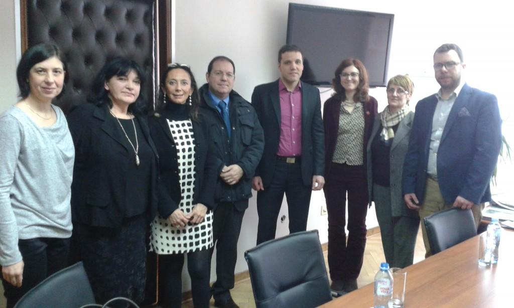 Predstavnici italijanskog društva u poseti našem ministarstvu